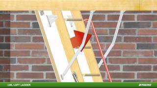 Fakro Loft Ladders - Lwl Wooden Loft Ladder