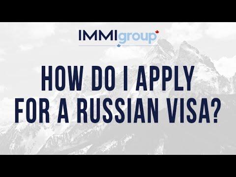 How do I apply for a Russian visa?