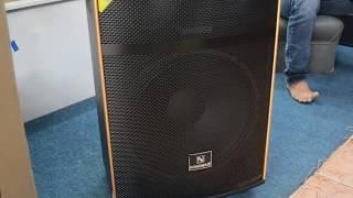 Loa Kéo NaNoMax 15A5 ( Hot 2018 ) - AudioMiềnNam