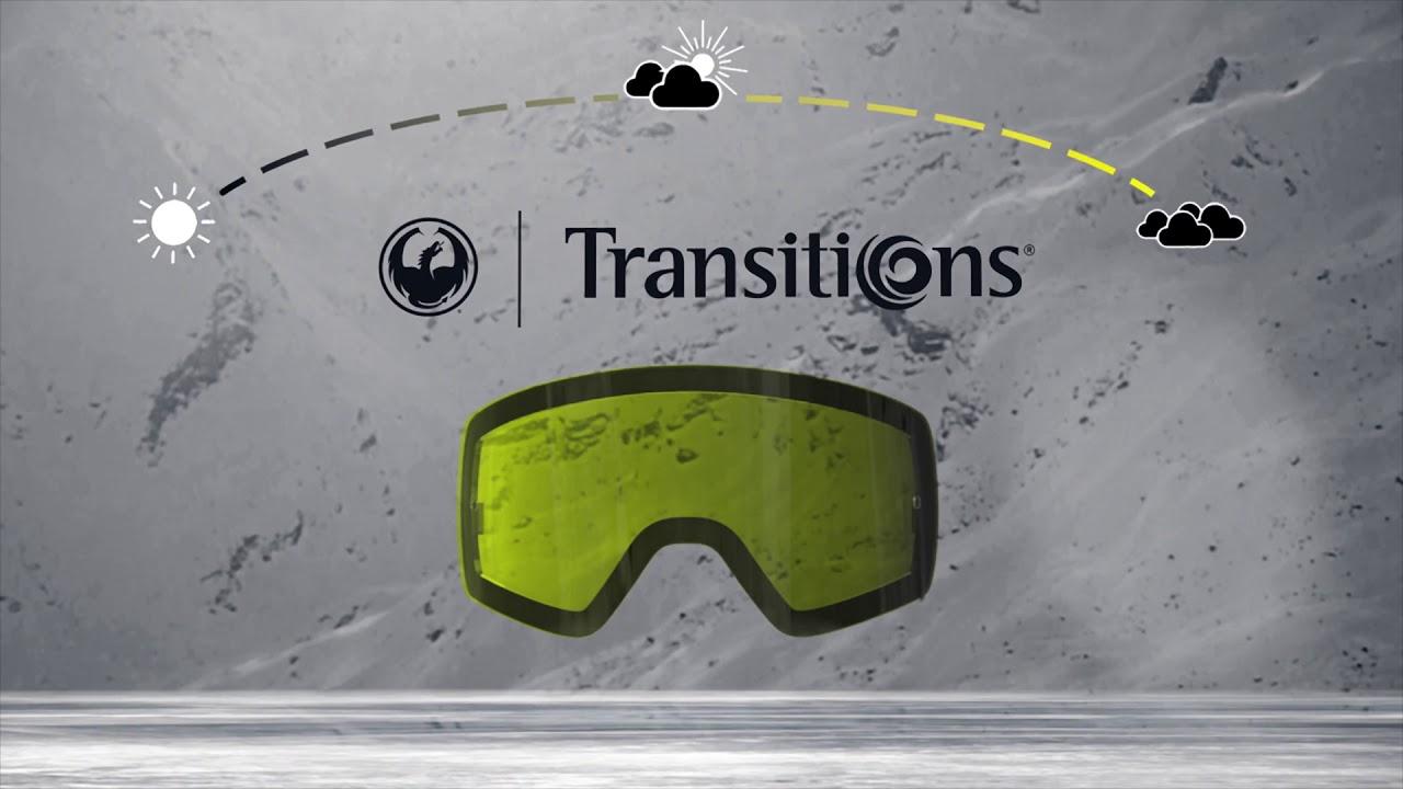 Dragon's 2017-18 Transitions Photochromic lenses