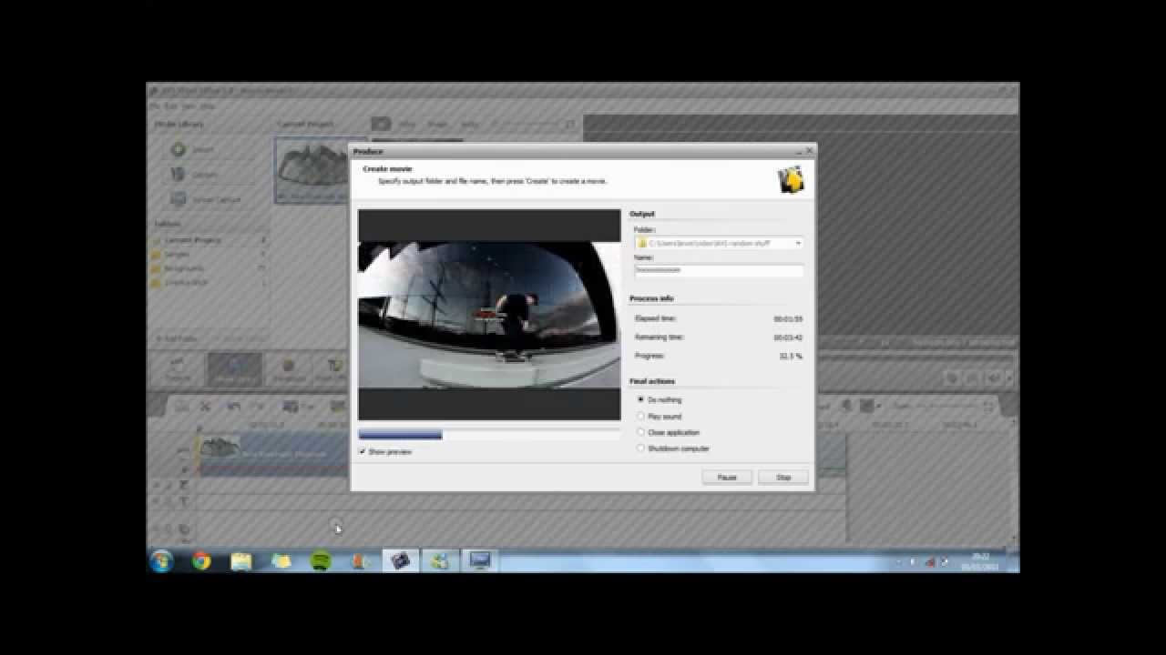 how to add a watermark on video