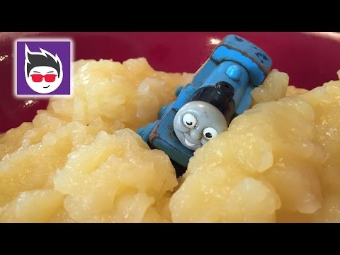 Thomas and Friends Vs Diesel 10 - with custard - Thomas and Friends Wooden Railway