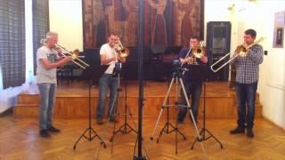 Es ist ein Ros entsprungen - Szeged Trombone Ensemble