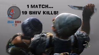 19 Shiv Kills in 1 Match (Subscriber Edition) - The Last of Us: Remastered Multiplayer