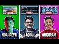 Noahreyli's NEW MOUSEPAD, Aqua's NEW SENS & Arkhram's NEW KEYBINDS (FN Pro Updates)