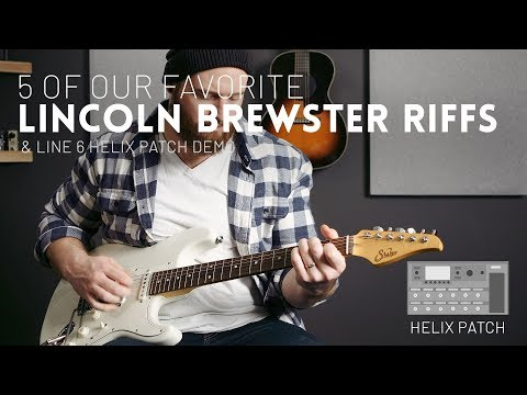Our 5 Favorite Lincoln Brewster Riffs (that We Can Actually Play) // Line 6 Helix & HX Stomp Patch