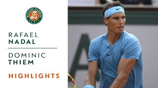 Rafael Nadal vs Dominic Thiem - Final Highlights I Roland-Garros 2018