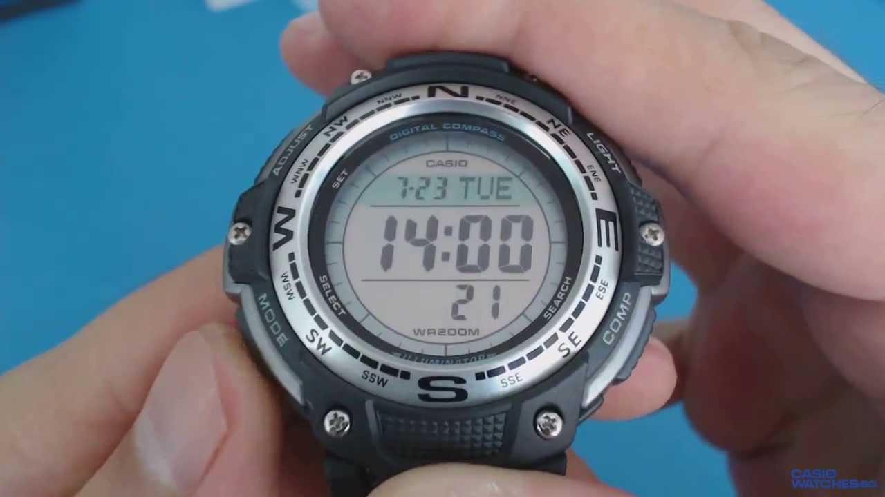 dafc61a4244 Casio Outgear SGW-100-1VEF - YouTube