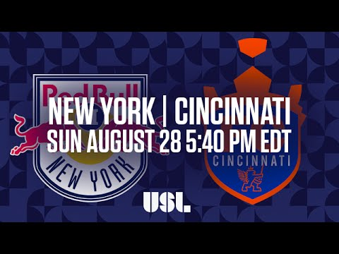 WATCH LIVE: New York Red Bulls II vs FC Cincinnati 8-28-16