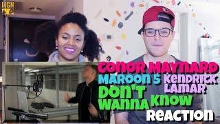 Baixar Conor Maynard - Don't Wanna Know (Maroon 5 Ft. Kendrick Lamar) Reaction