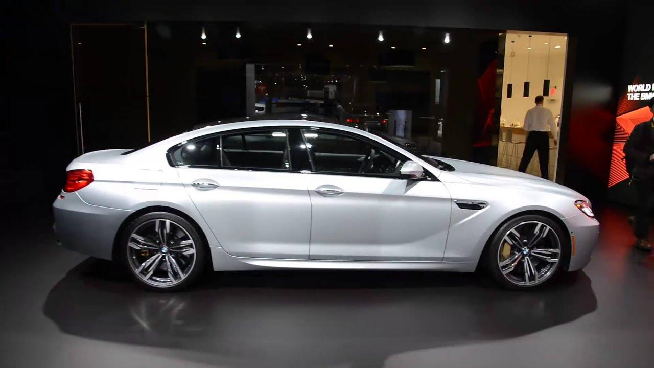 BMW Series Coupe BMW M Gran Coupe Detroit Walkaround - Bmw 4 by 4