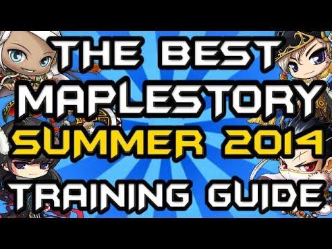 Best Maplestory Training Spots 1-250 Guide (GMS v 156