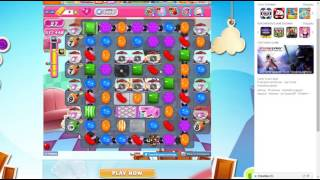 candy crush saga level 1458 no booster 3 stars 802 k pts