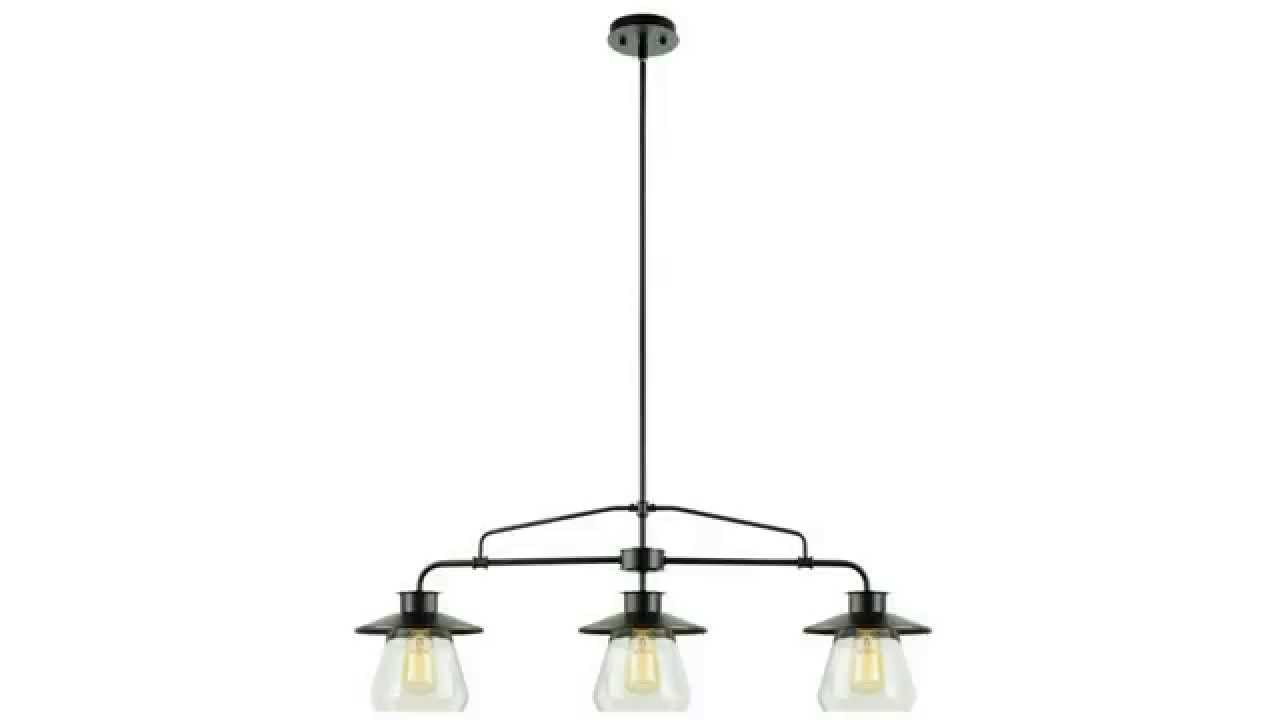 Globe Electric Light Vintage Hanging Island Pendant Light - Hanging island light fixture