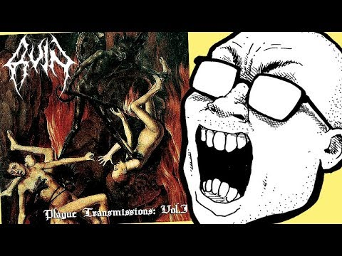 Ruin - Plague Transmissions Vol. 1 COMPILATION REVIEW