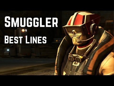 Best Smuggler Lines and Funny Moments | Star Wars: The Old Republic