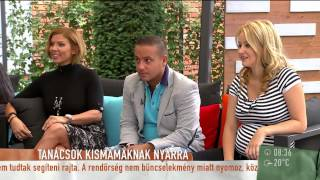 L.L. Junioréknál túl hamar jött a második baba? - 2015.07.28. - tv2.hu/mokka
