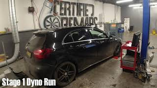 Mercedes Benz A180 2017 Stage 1 Remap with dyno - Certified Remaps