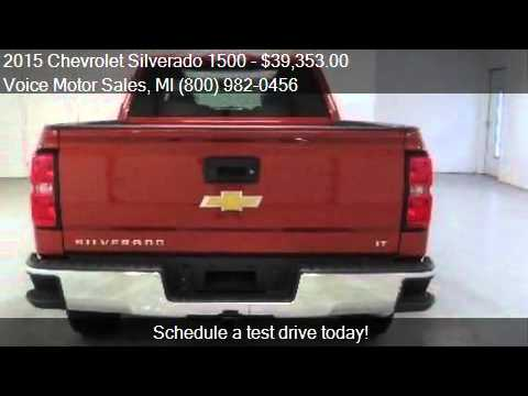 2015 chevrolet silverado 1500 2lt z71 4x4 crew cab for Voice motors kalkaska michigan