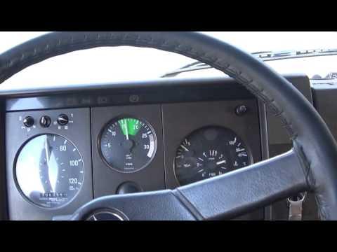 Mercedes Benz 1317 1990 экономичная скорость на трассе