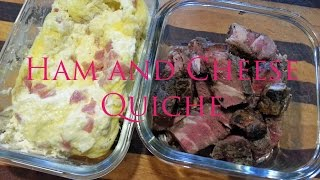 Diet Recipe -§- Ham And Cheese Quiche -§-