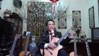 Guitar dem hat CON ECH XANH  Bác Nhâm