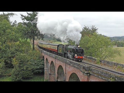 Severn Valley Railway - Autumn Steam Gala 2017