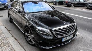 Тест Драйв от Давидыча Mercedes-Benz S63amg W222