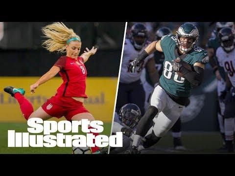 24 Hours With Sports' Power Couple: Eagles' Zach Ertz & USWNT's Julie Ertz | Sports Illustrated