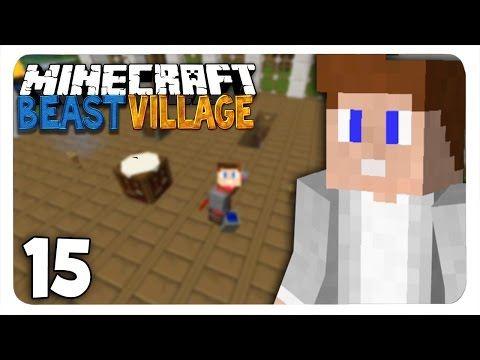 BEAST VILLAGE - SOLAR PANEL! #15 | Feed The Beast Lite