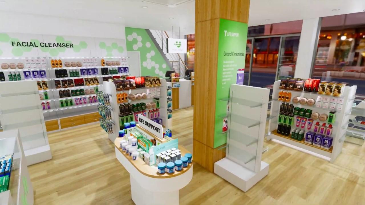Modern Retail Pharmacy Shop Interior Design Youtube,Latest Earrings Design 2020 Gold