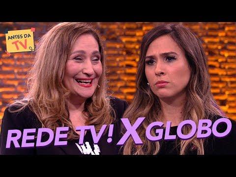 Rede TV vs Rede Globo: Sônia Abrão e Tatá DETONAM emissoras  Lady Night  Humor Multishow