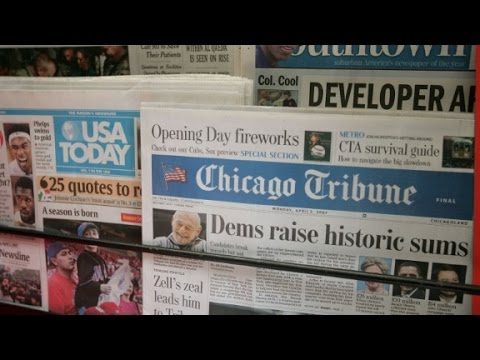 Why does Gannett want to buy Tribune publishing?