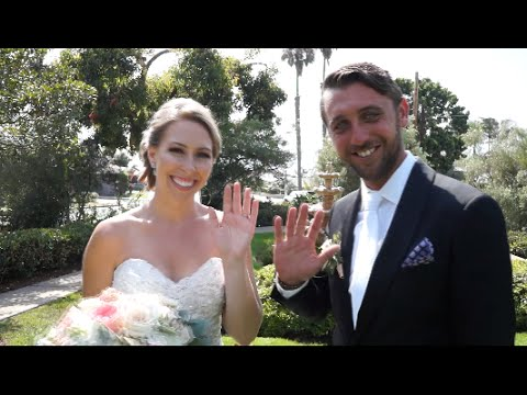 Thursday Club San Diego Wedding Ceremony & Reception Trailer
