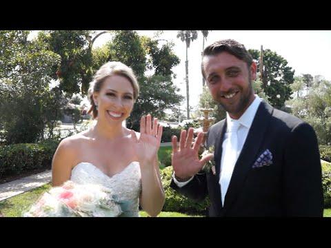 Thursday Club San Diego Wedding Ceremony & Reception Trailer / Affordable Wedding Videography