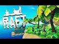 SEUL SUR UNE ÎLE ! | Raft #3