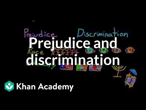 Prejudice and discrimination based on race, ethnicity, power