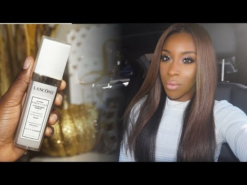 The NEW Best Matching Foundation Ever! Lancome Teint Particulier | Jackie Aina