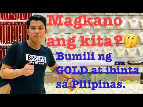 Bumili ng murang Gold at ibinta sa Pilipinas | Magkano ang kita?