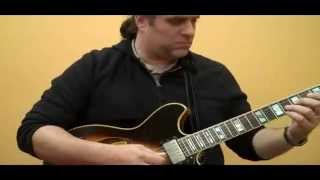 Marco Oppedisano - solo guitar improvisation excerpt: 2.22.13