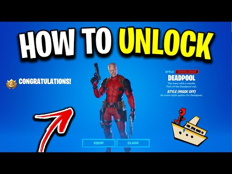 How To Get UNMASKED Deadpool In Fortnite! (Week 8 Challenges Guide)