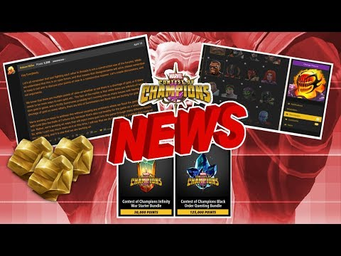 Kabam Respond to The Gold Issue, New forum Avatars and Much More| MCN