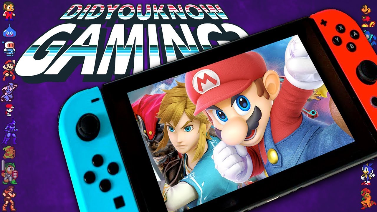 Nintendo Switch Secrets & Censorship - Did You Know Gaming? Feat. Remix