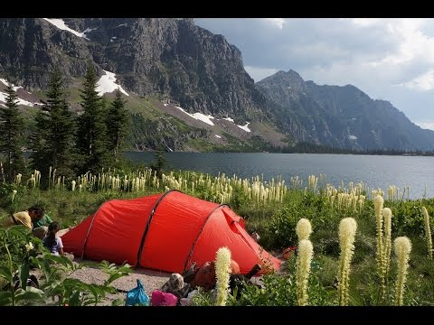 Backpacking in Glacier National Park w/family - full length