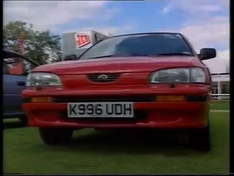 Old Top Gear - 1993 - Land Rover V8, Vauxhall Senator, Subaru Impreza