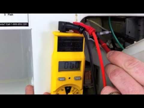 Microwave No Power Repair - YouTube