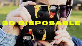 I made a 3D disposable camera.