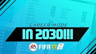 vuclip FIFA 17 CAREER MODE IN 2030! | 1 PACE? SERIOUSLY? + MAD RELEGATION