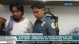 2 lalake arestado sa isinagawang drug buy bust operation sa Bataan
