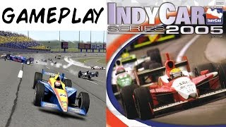 IndyCar Series 2005  - PS2 Gameplay & Intro HD